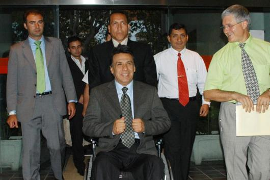 Paraplegic Lenin Moreno Garcés May Become President of Ecuador