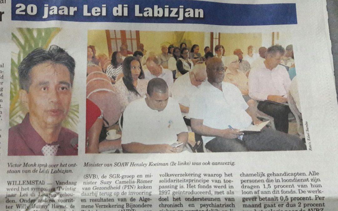 20 Years Lei di Labizjan