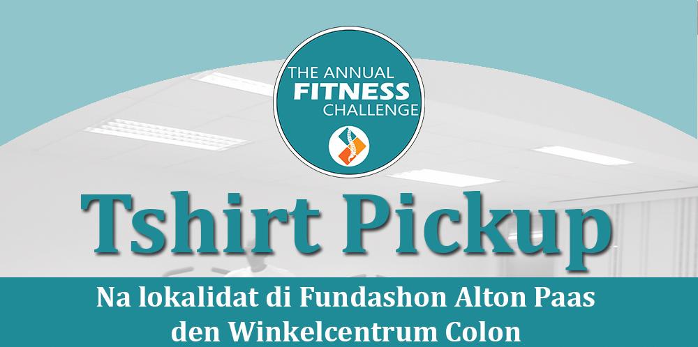 [Komunikado] The Annual Fitness ChallengeT-shirt Pickup