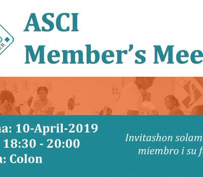 ASCI Members Meeting
