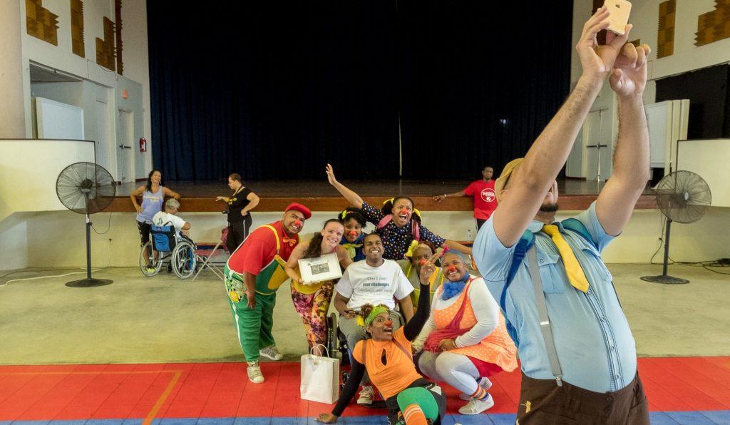 fitness challenge charlyne balentine clini clowns