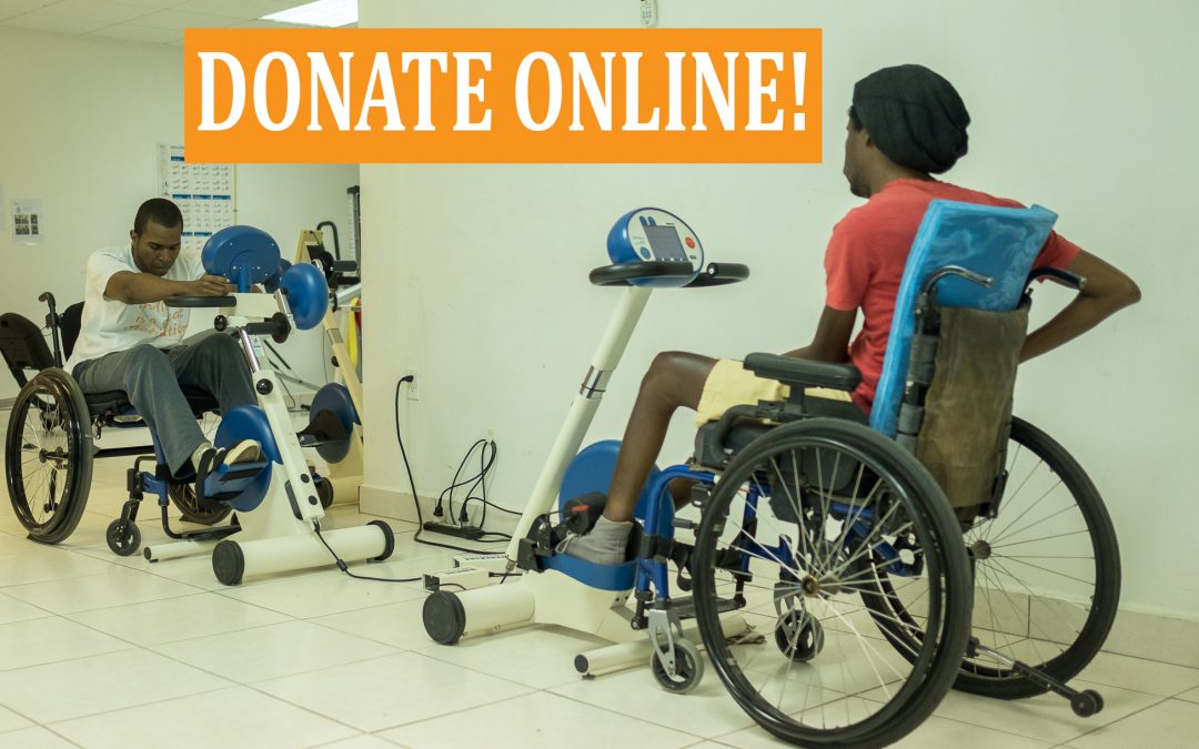 Would You Be Our First Online Donor?