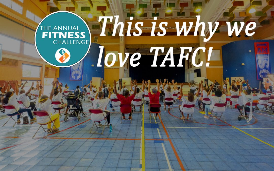 This is  Why We Love The Annual Fitness Challenge
