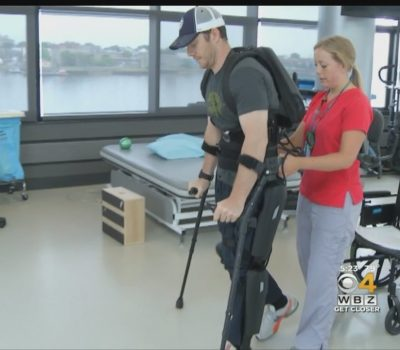 Brain-Controlled Robots Helps People Learn To Walk Again