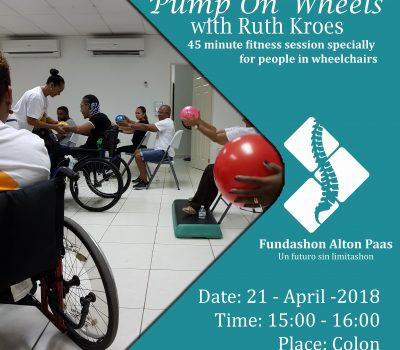 Pump On Wheels by Ruth Kroes