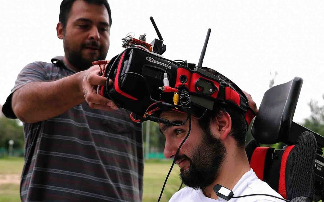 Quadriplegic Finds Adrenaline Rush With Racing Drone
