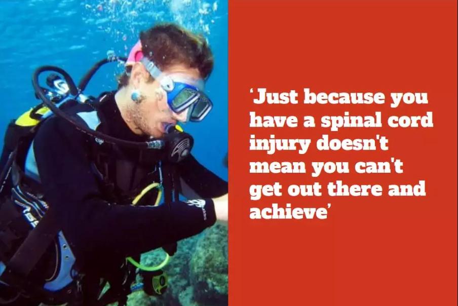 A Paraplegic Scuba Diver is Helping Disabled Swimmers Achieve Their Dreams