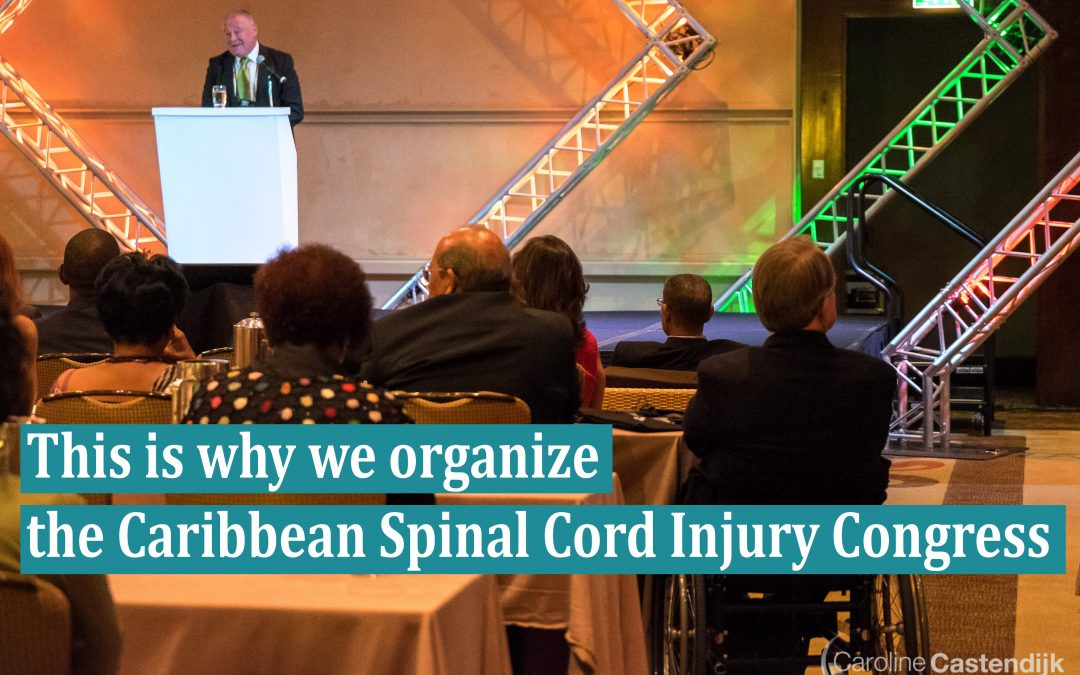 This is Why We Organize The Caribbean Spinal Cord Injury Congress