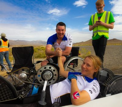 Handcycle Speed Record
