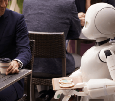 Paralyzed People Control the Robot Waiters at a Japanese Cafe