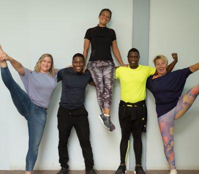 Verschillende top fitness instructeurs bundelen kracht om een verschil te maken