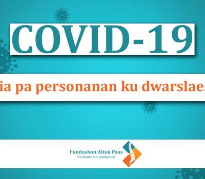 COVID-19 Guia pa personanan ku dwarslaesie