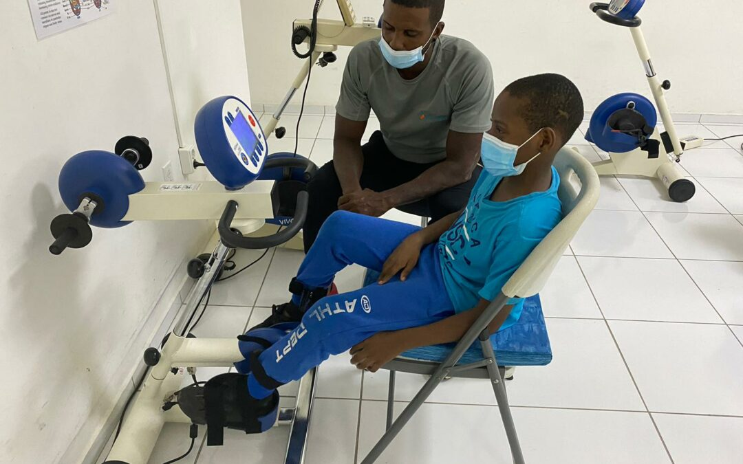 The new therapy device that fulfills the special needs of children
