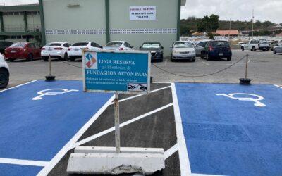 Danki na Stichting Signaal Sosial awor nos parkeerplaats nan ta haña mas respet